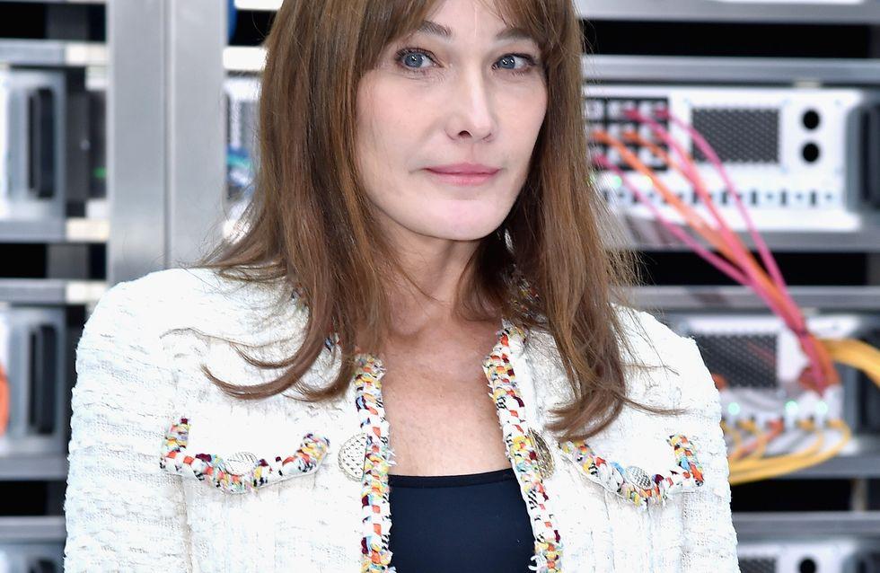 Carla Bruni Partage Un Tendre Cliche De Nicolas Sarkozy Et Giulia