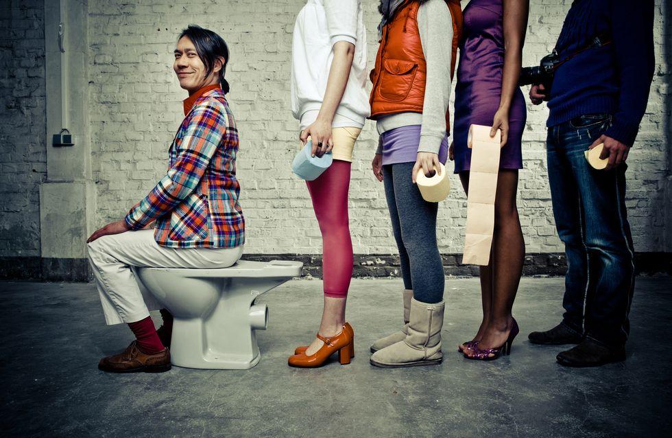Pour la première fois, des urinoirs féminins collectifs vont être testés en France