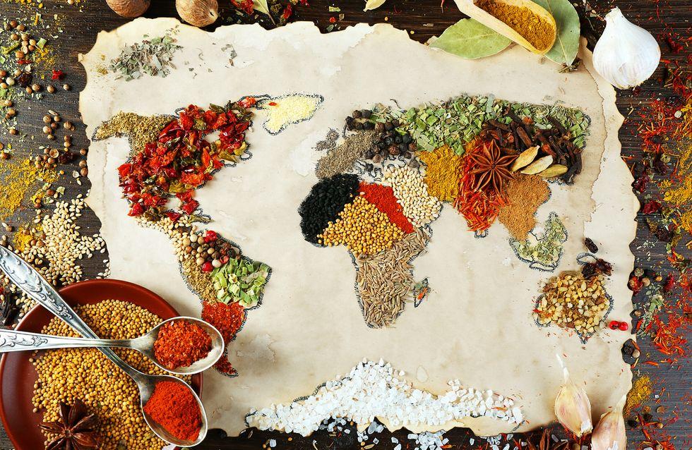Le tour du monde en recettes : les 5 livres pour voyager en cuisine