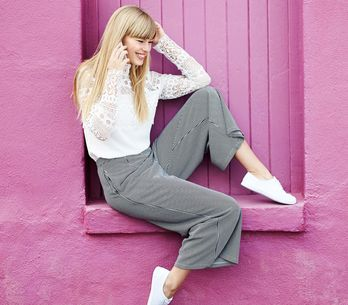Come abbinare i pantaloni larghi in base al modello che preferite!