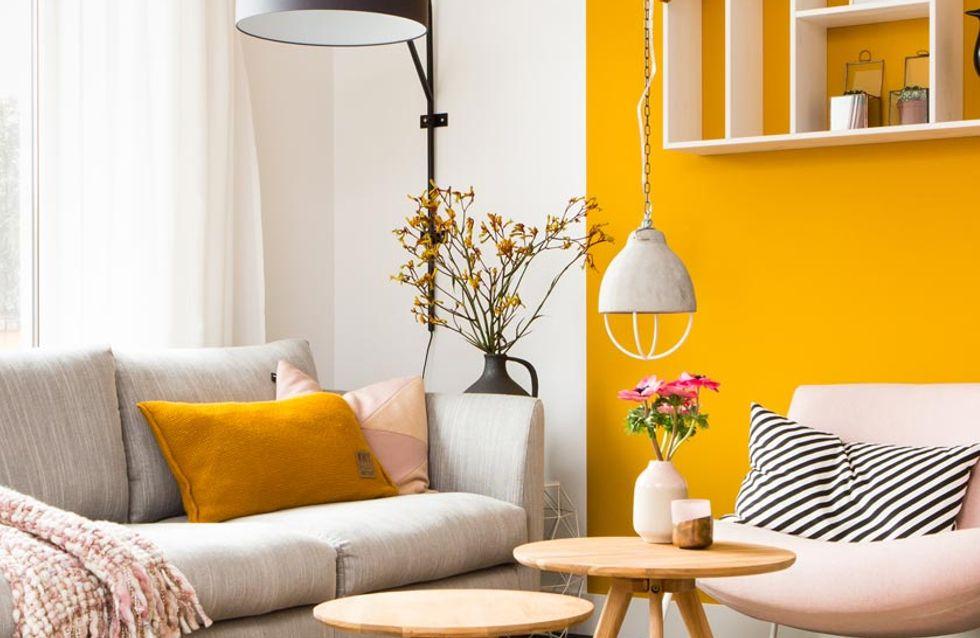 Comment adopter le jaune moutarde pour pimenter sa déco ?