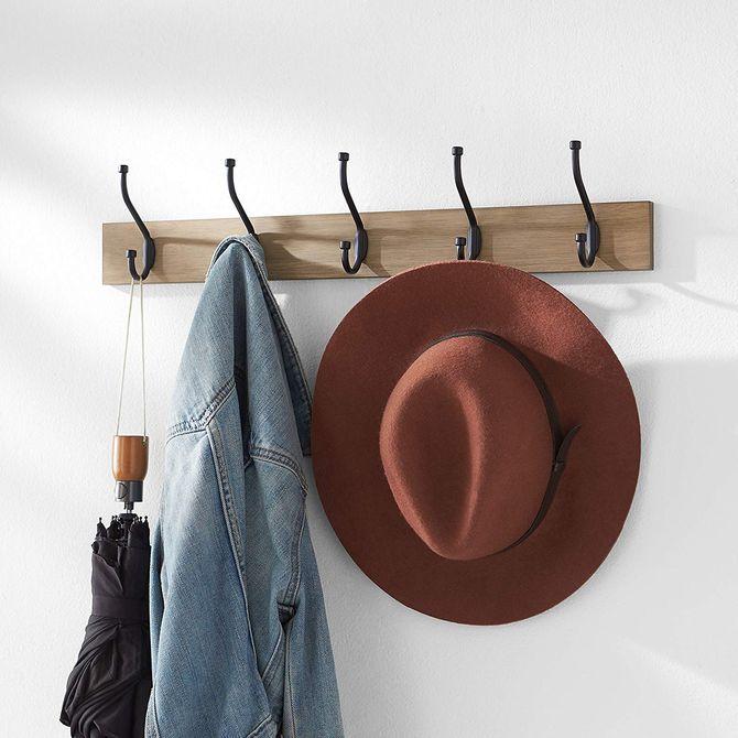 Patère tendance pour un dressing organisé