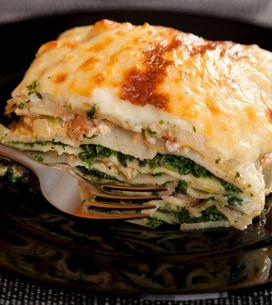 Lasagna con salmone e spinaci: un primo piatto delicato e alternativo!