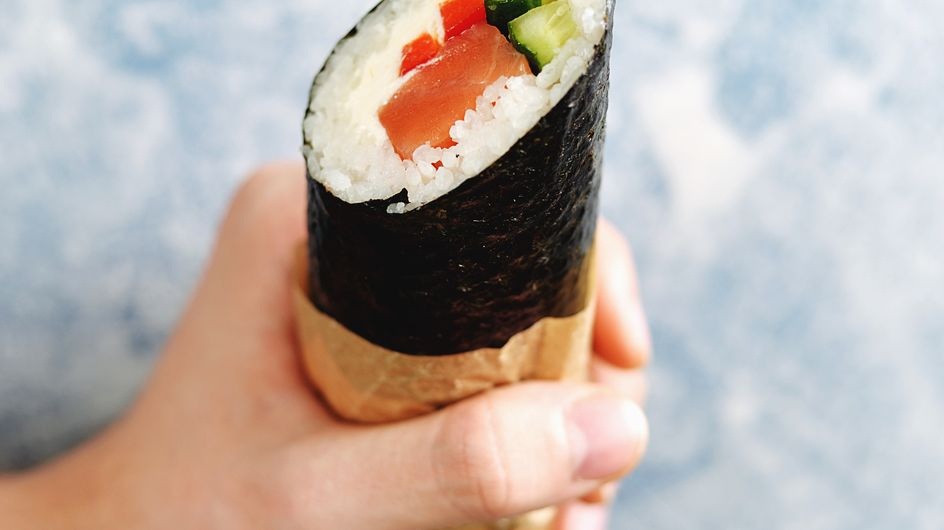 Découvrez la tendance du sushi burrito