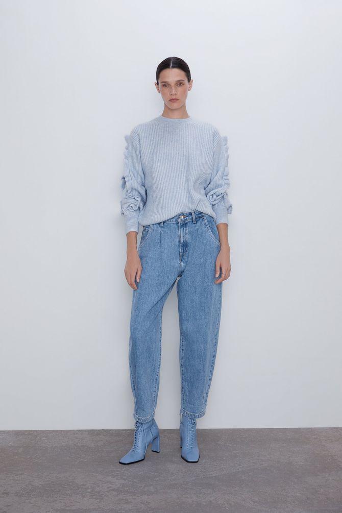 Come abbinare i pantaloni larghi di jeans