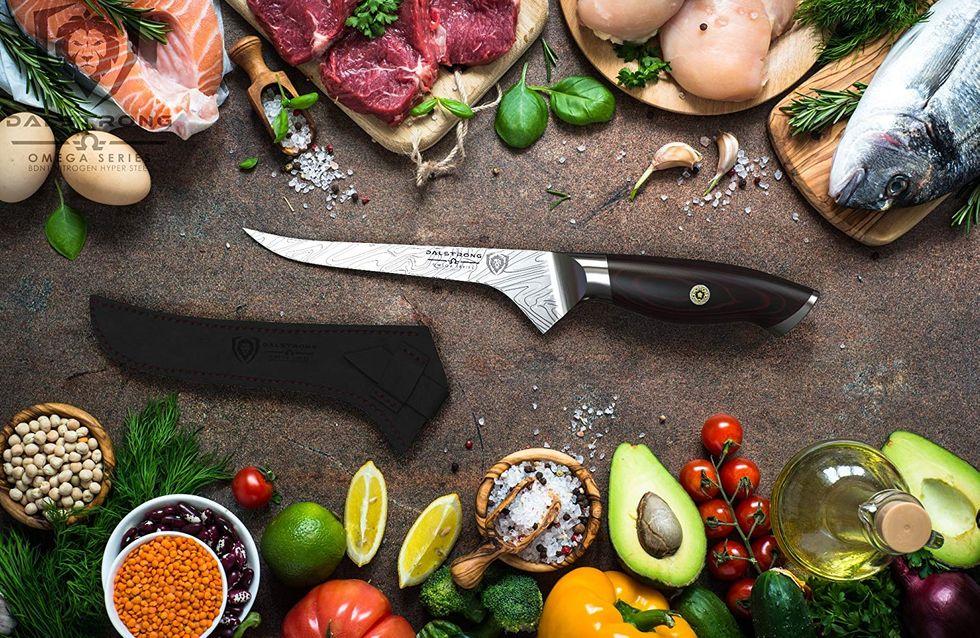 Comparatif des meilleurs couteaux de cuisine + conseils pour les choisir