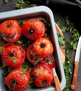 Les tomates farcies font toujours de bonnes farces