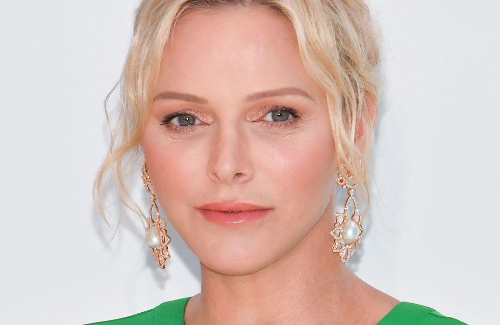 Au gala de la Croix-Rouge, Charlène de Monaco surprend dans une robe verte