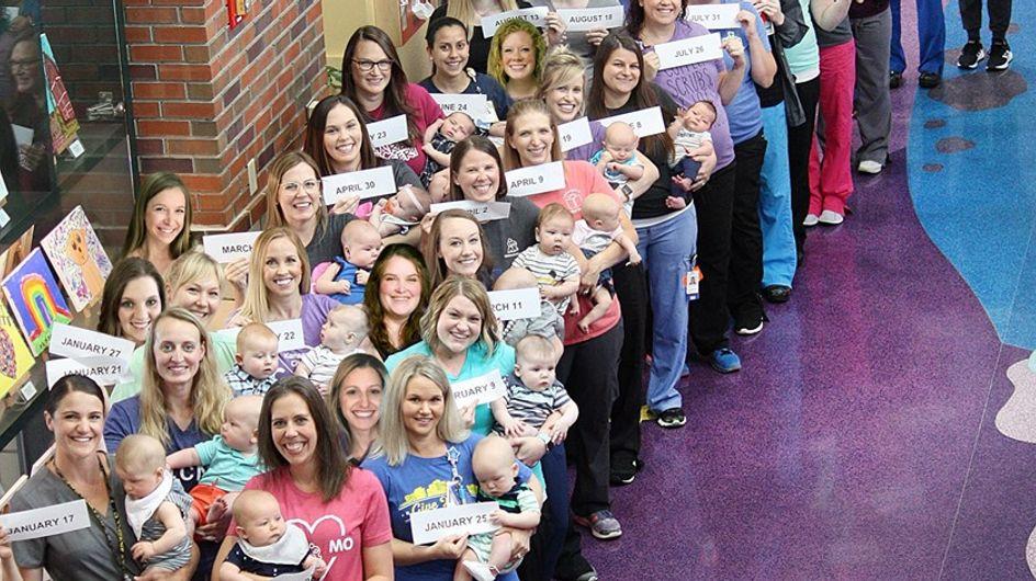 36 infirmières du même hôpital sont toutes tombées enceintes cette année