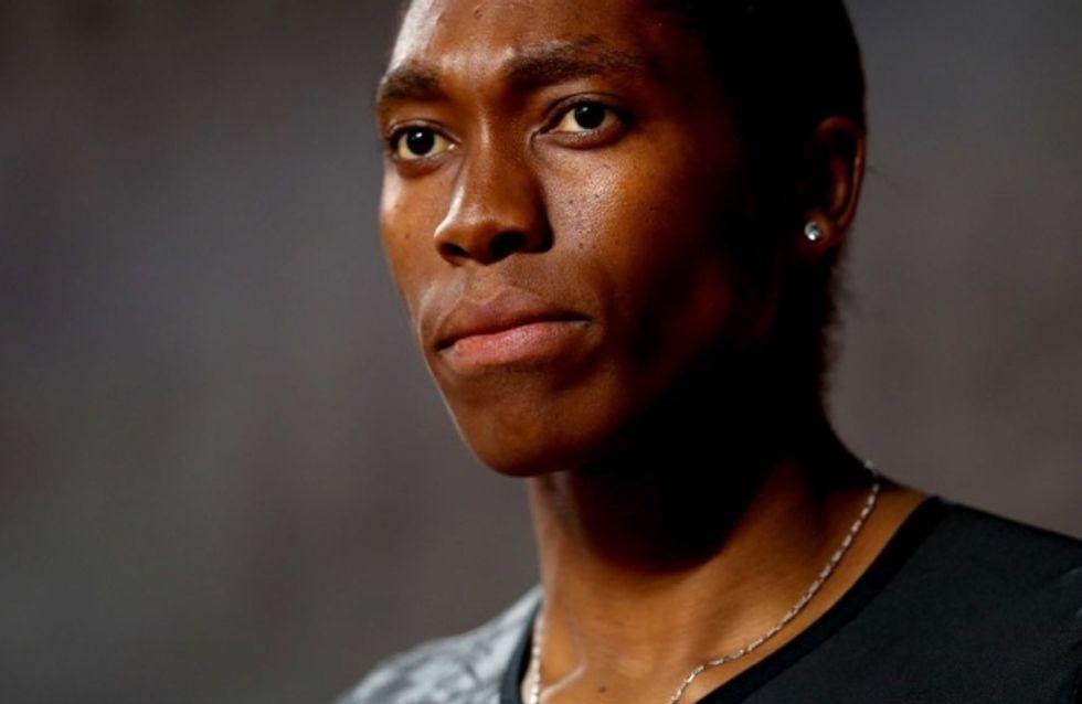 La championne Caster Semenya, écartée des Mondiaux à cause de son hyperandrogénie
