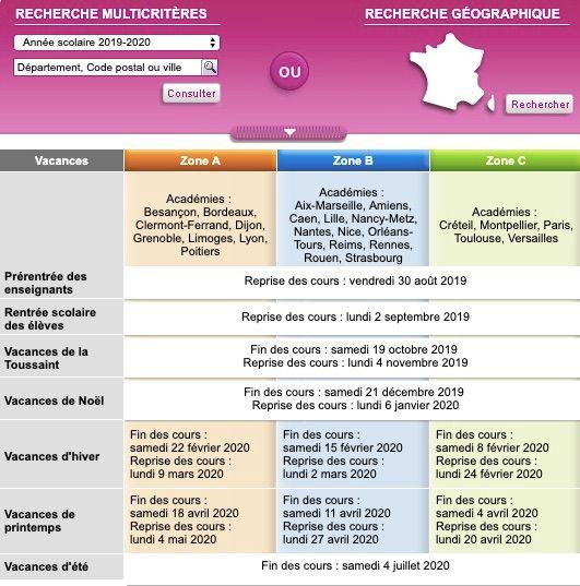 Calendrier Scolaire Bordeaux.Quelles Nouveautes Pour Le Calendrier Des Vacances Scolaires