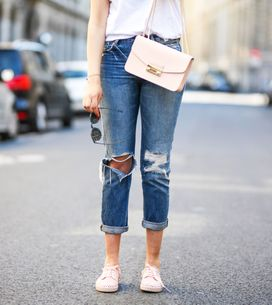 Style-Guide: So trägt man Destroyed-Jeans richtig
