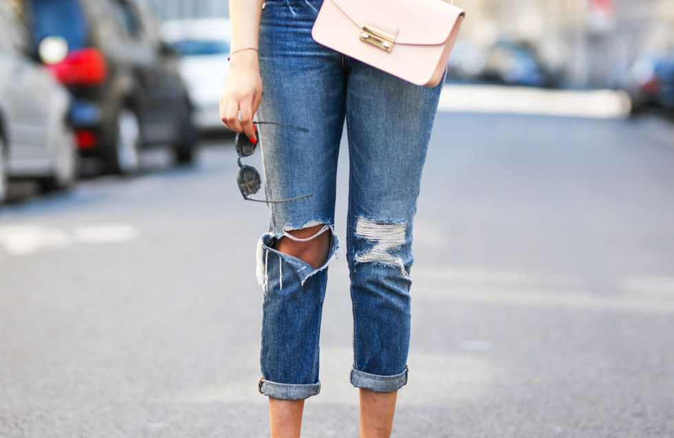 Destroyed Jeans kombinieren: So stylt man den Denim Trend