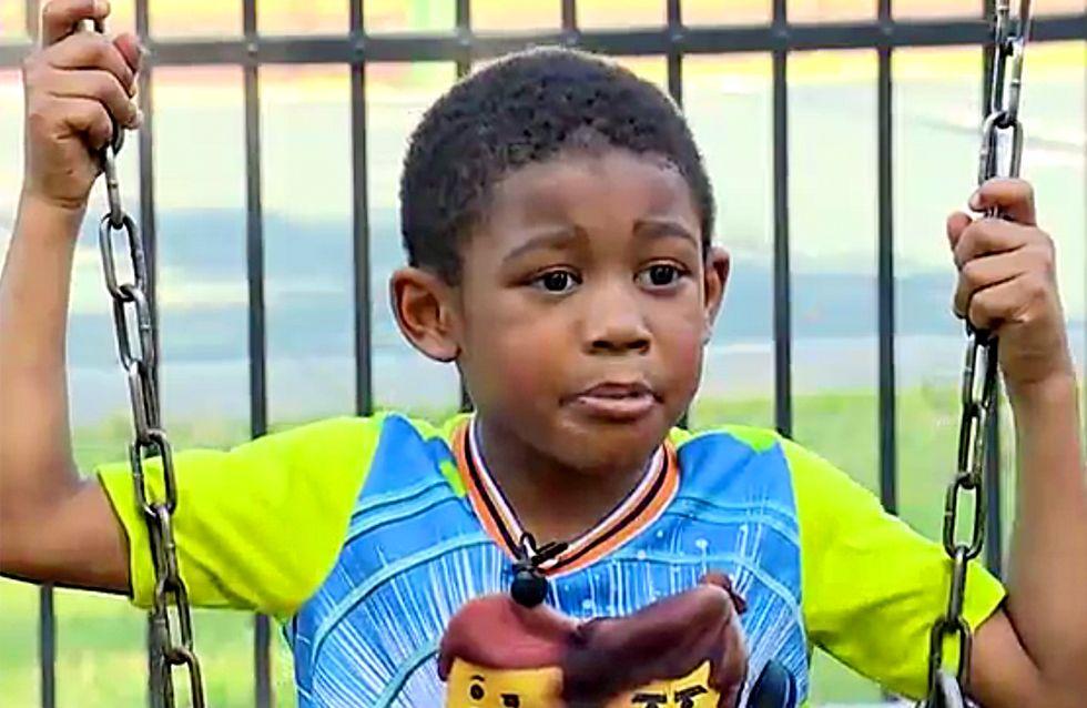 A 5 ans, un petit garçon sauve 13 personnes d'un terrible incendie