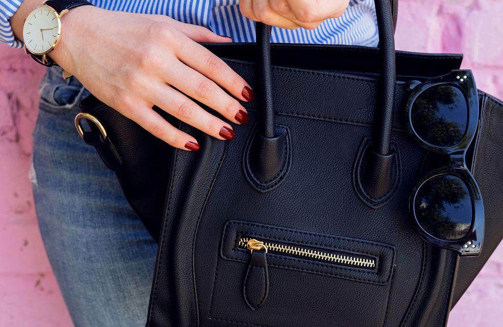 Schluss mit Suchen! 5 Tipps für mehr Ordnung in der Handtasche