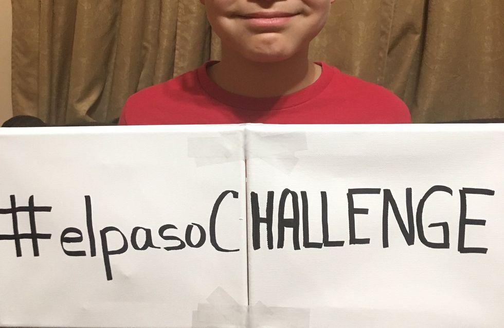 Touché par la tuerie d'El Paso, ce petit garçon lance un challenge altruiste et positif