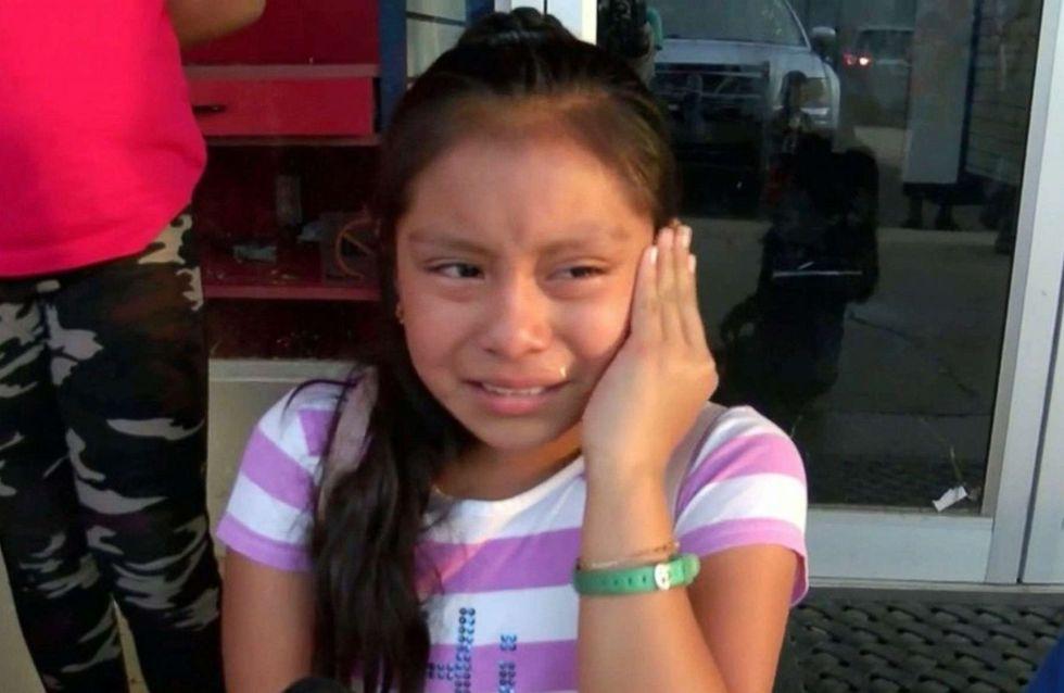 Séparée de son père, cette petite Mexicaine en pleurs bouleverse la Toile