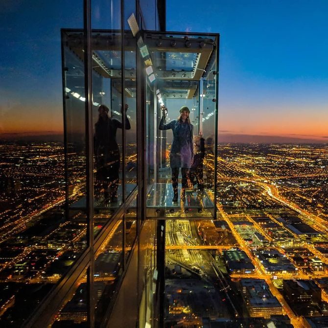 Le skydek de la Willis Tower