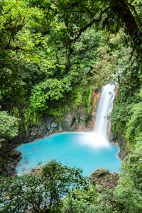La rivière Celeste au Costa Rica