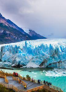 Le glacier Perito Morena en Patagonie