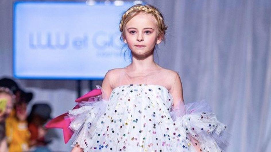 À 9 ans, cette fillette amputée des deux jambes va défiler à la Fashion Week de New York