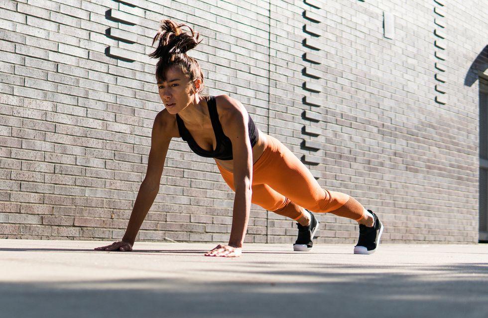 ¡Adiós barriga! Plancha abdominal y 6 ejercicios para tener un vientre plano