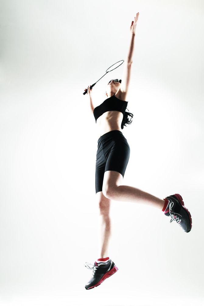 Les atouts du badminton : bras, cardio, jambes et...