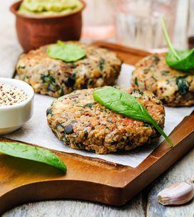 Hamburguesa de verduras: una receta nutritiva y deliciosa
