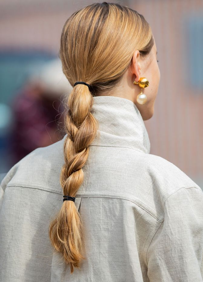 Frisurentrends Herbst 2019: Scandi Zopf
