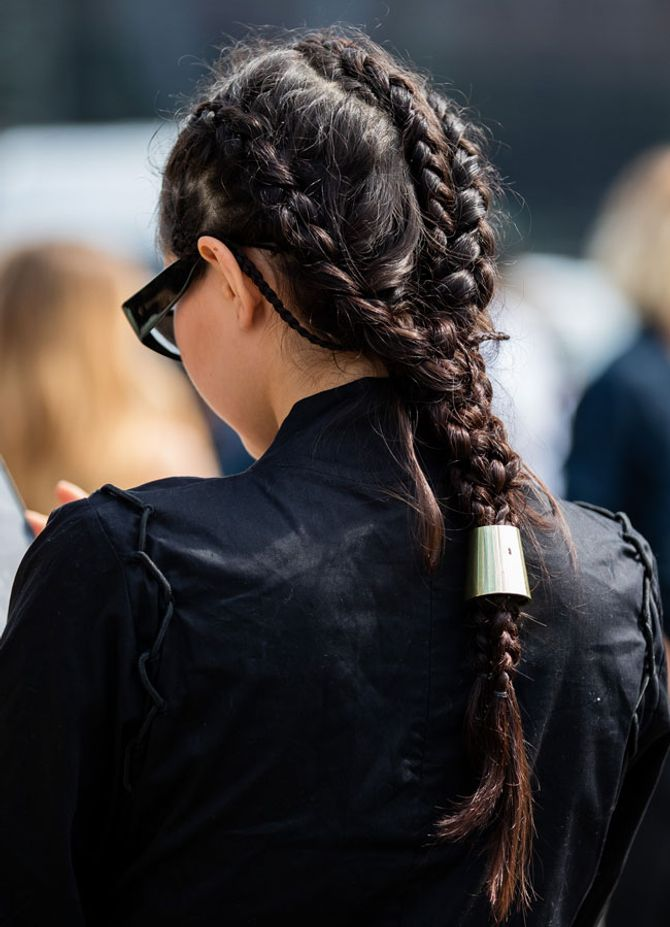 Frisurentrends Herbst 2019: Braids