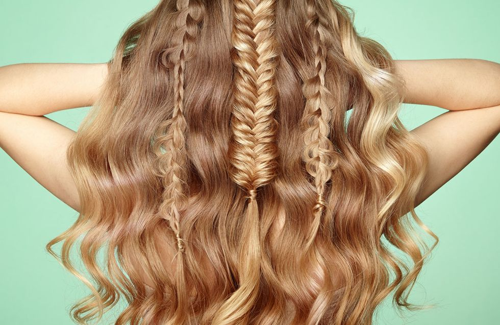 Wie lange haare zusammenbinden
