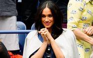 Meghan Markle opte pour la robe en jean pour assister à l'US Open