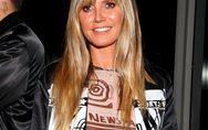 Heidi Klum im Nackt-Look: Geht sie mit dem Nippel-Blitzer zu weit?