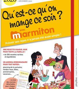 Découvrez le nouvel agenda Marmiton : Qu'est-ce qu'on mange ce soir ?