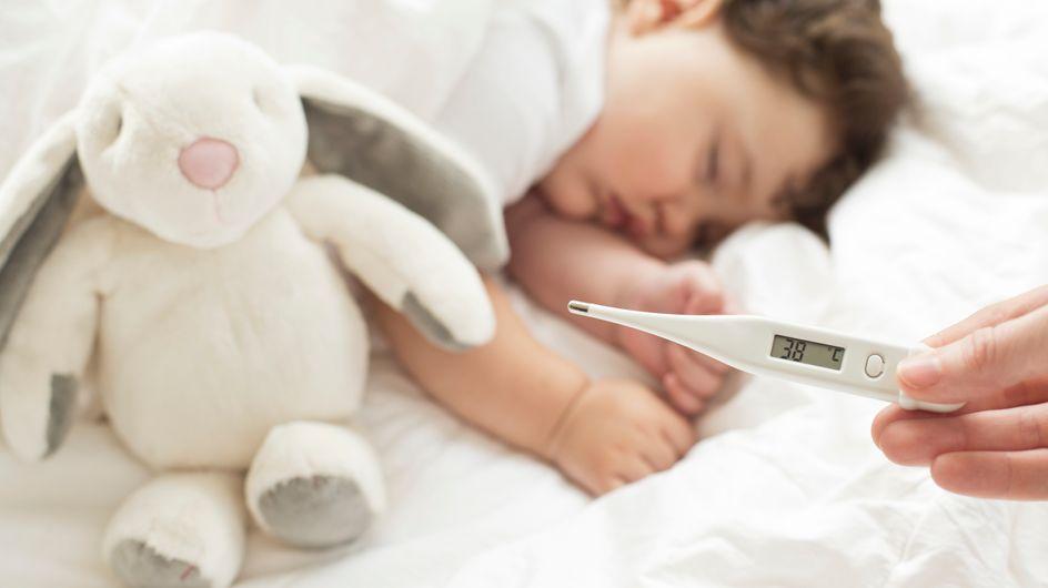 Mi bebé tiene fiebre, ¿debería preocuparme?