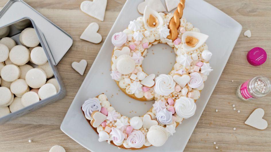 Leçon de Number Cake, le joli gâteau pour compter les années