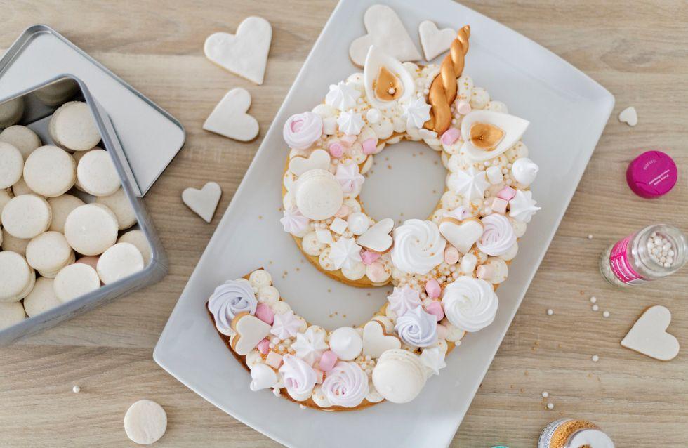 incroyable sélection incroyable sélection 2019 real Number cake : Tuto découpage et recettes de gateaux chiffres