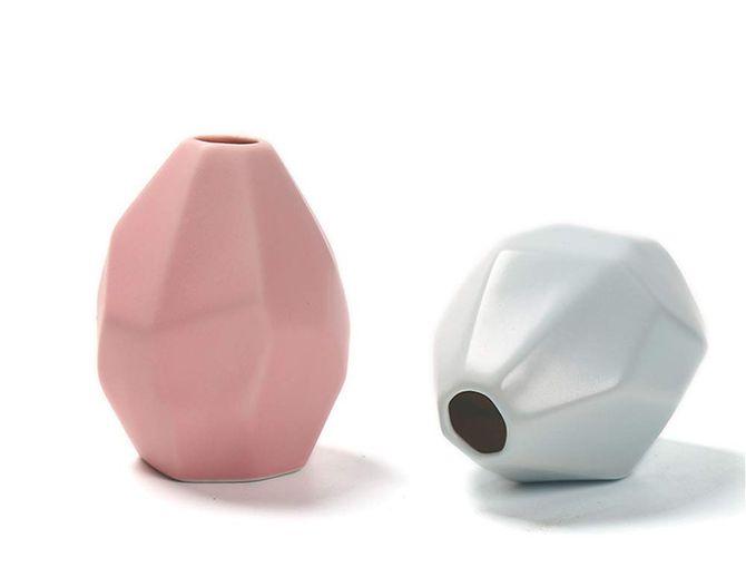 Jarrón de cerámica artesana Ruikey