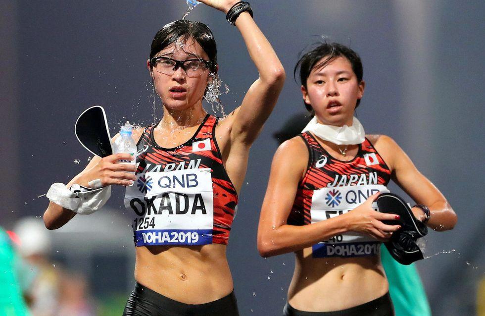 Mondiaux d'athlétisme à Doha : 28 femmes abandonnent à cause de la chaleur