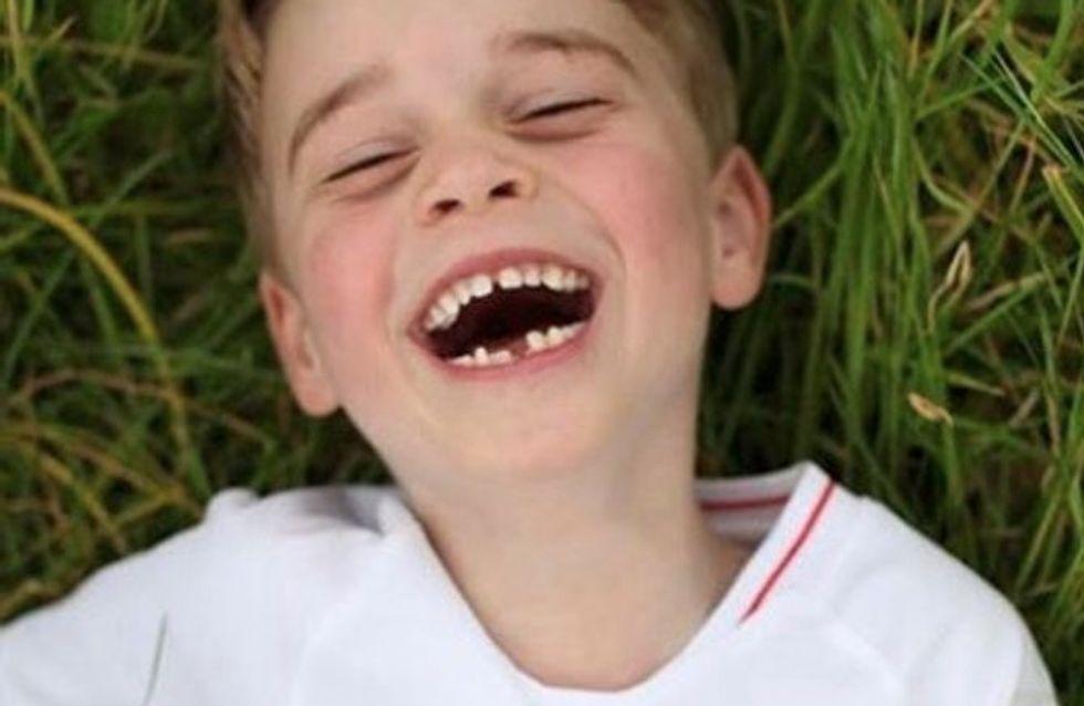 Le prince George tout sourire à un match de foot, la vidéo qui fait fondre la Toile
