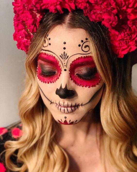 Maquillaje De Halloween Paso A Paso 10 Ideas Terrorificas