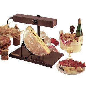 Appareil à raclette Alpage, très traditionnel pour disposer un demi-fromage