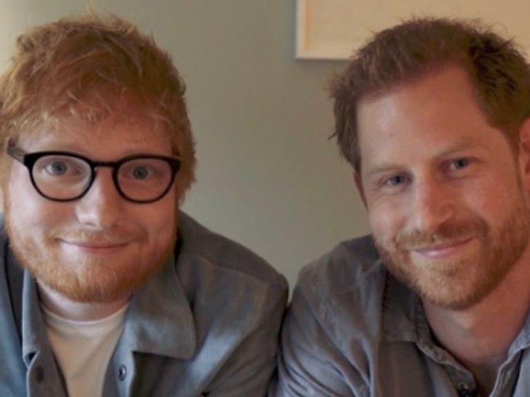 Le prince Harry et Ed Sheeran collaborent ensemble pour la bonne cause