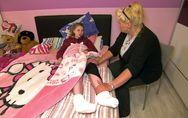 Sorge um Loredana Wollny: Sie spürt ihre Beine nicht mehr!