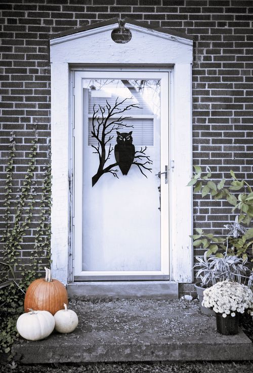 Halloween Türdekoration Ideen Für Halloween Kränze