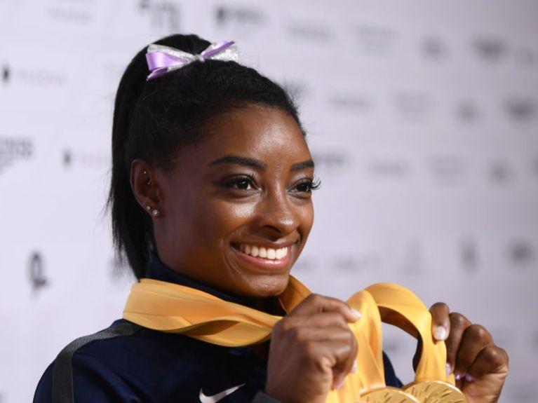 Avec 25 médailles mondiales, Simone Biles n'en finit plus de briller