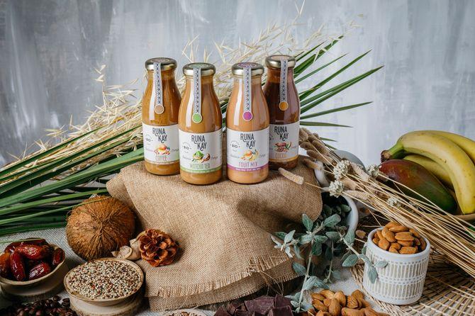 Bebidas eco-veganas de Runakay