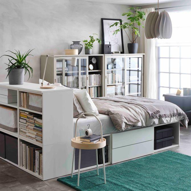 Une petite chambre astucieuse