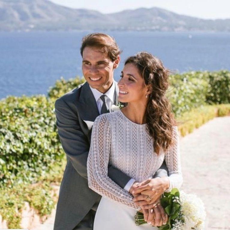 Rafael Nadal  l\u0027incroyable robe de mariée de son épouse