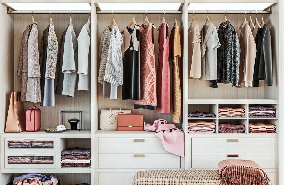 Kleidung verstauen: So überwintert eure Sommermode richtig